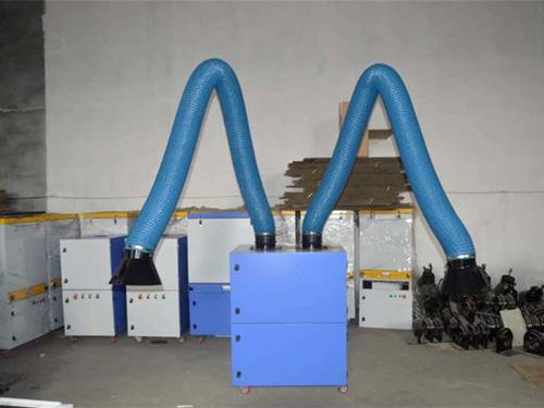 焊烟废气净化器净化烟尘收集方式与组成特点