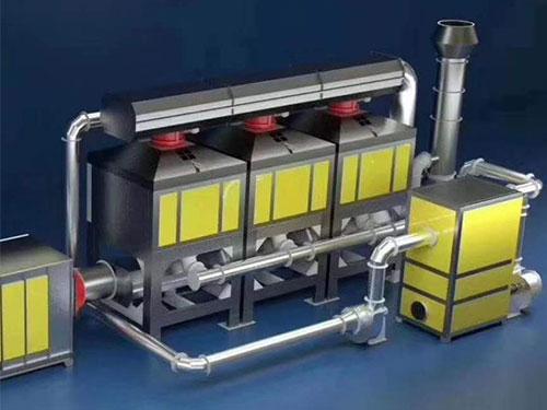 催化燃烧设备的管道在应用中应注意什么和排放方式